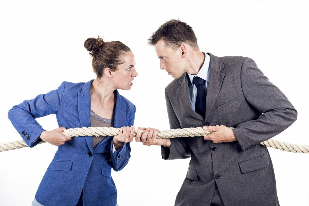 mediation tug of war