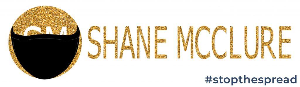 shane mcclure lawyer logo masked